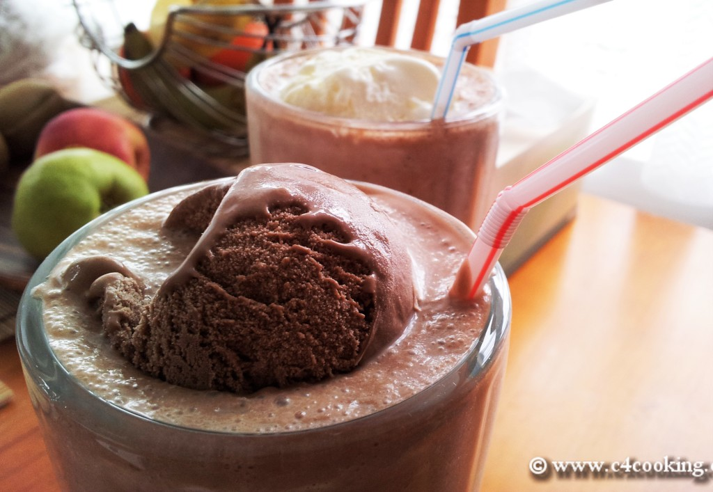 c4cooking's nutella pear shake