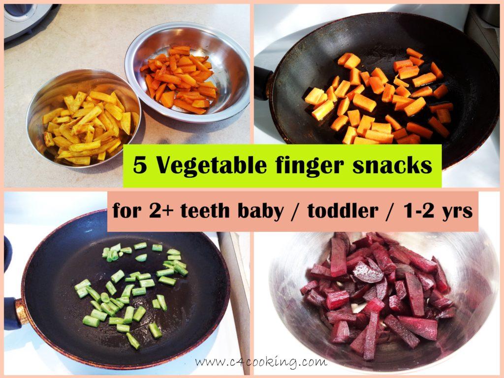 5 vegetable finger snacks toddler recipes