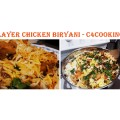 Layer Chicken Biryani