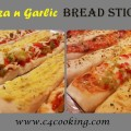 pizza garlic breadsticks