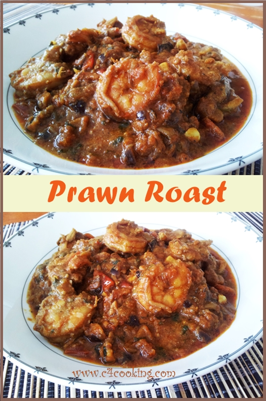 Prawn roast