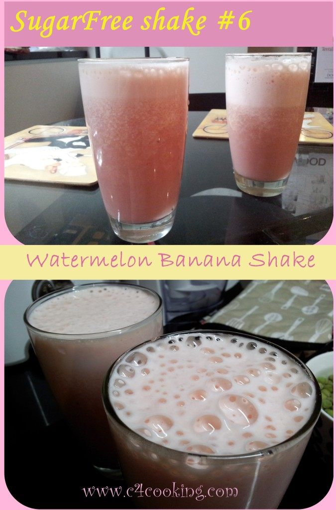 shake#6 watermelon banana