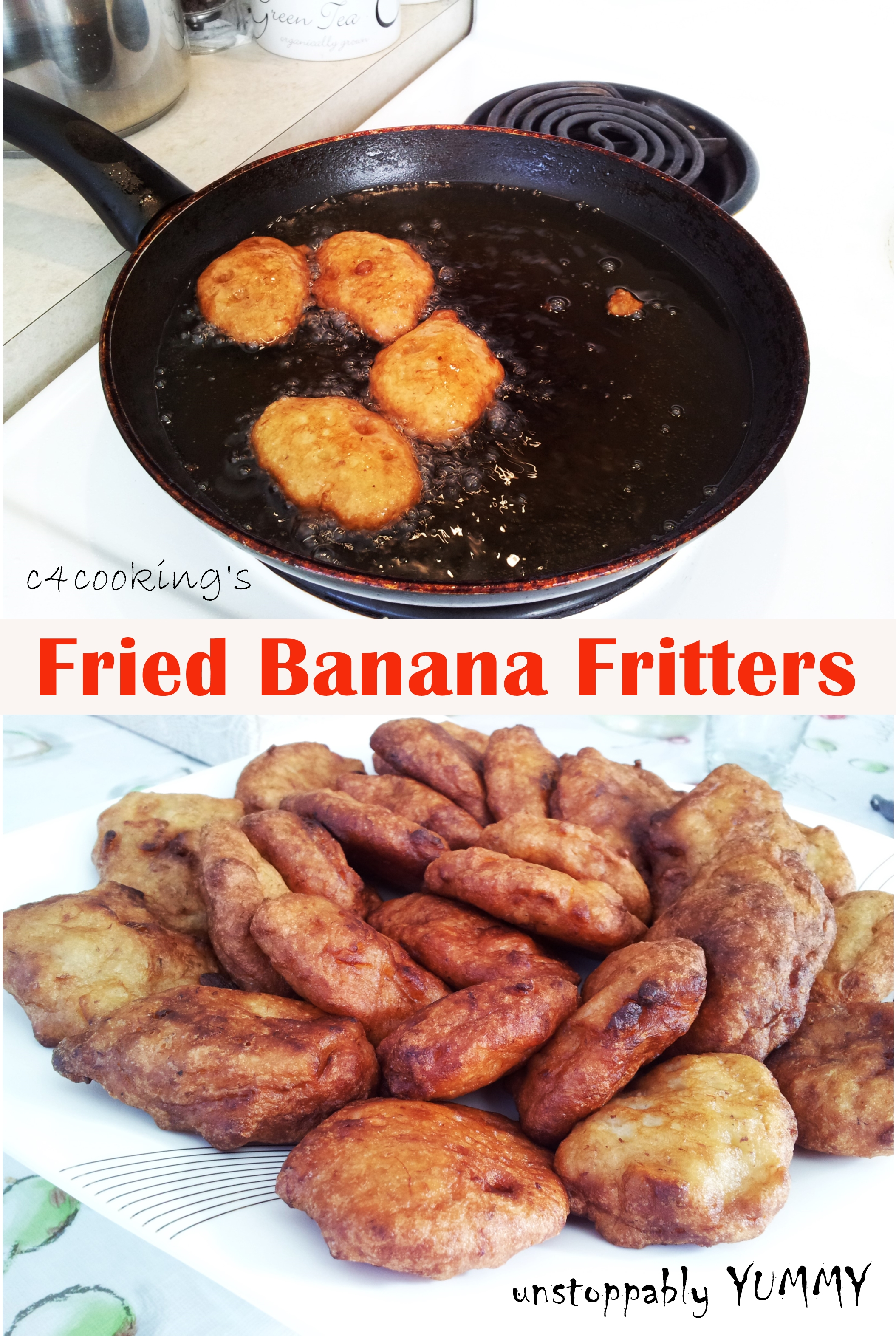 fried banana fritters c4cooking