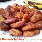 fried banana fritters