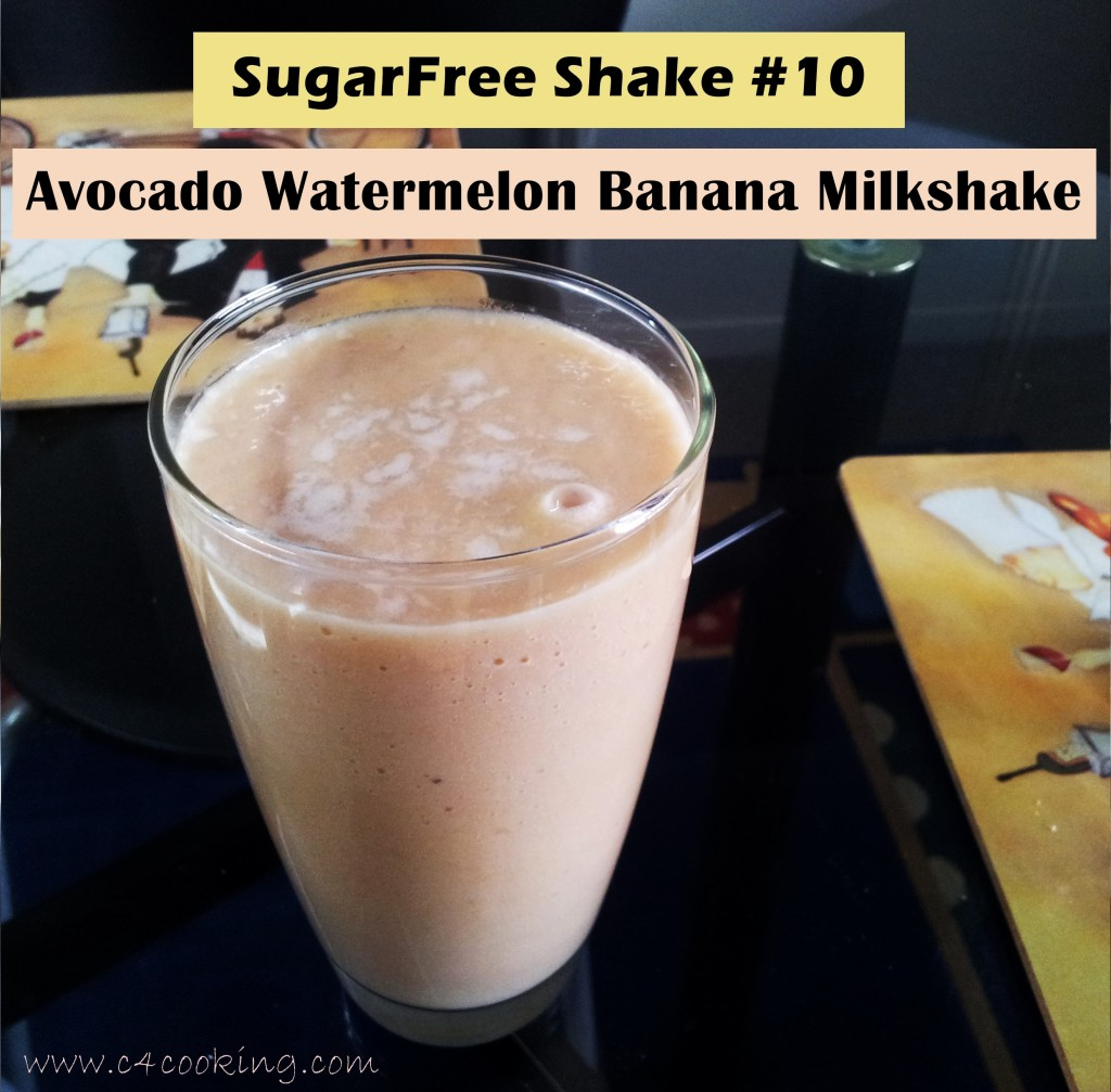shake10 avocado watermelon banana shake