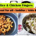 Peas rice chicken toddler recipe