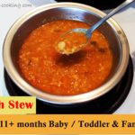 fish stew 11months babyfood