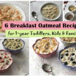 breakfast oatmeal recipes, 6 oatmeal recipes toddler kids c4cooking,
