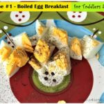 boiled egg breakfast for toddler kids