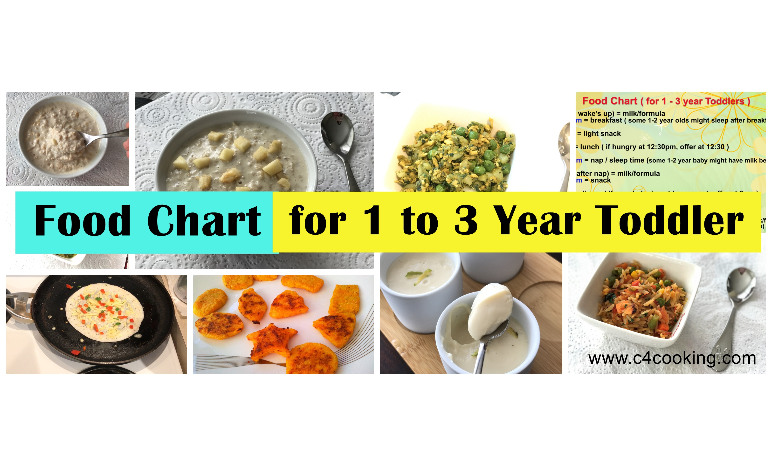 daily food routine for 1year toddler, foodchart for 2year toddler, toddler food chart