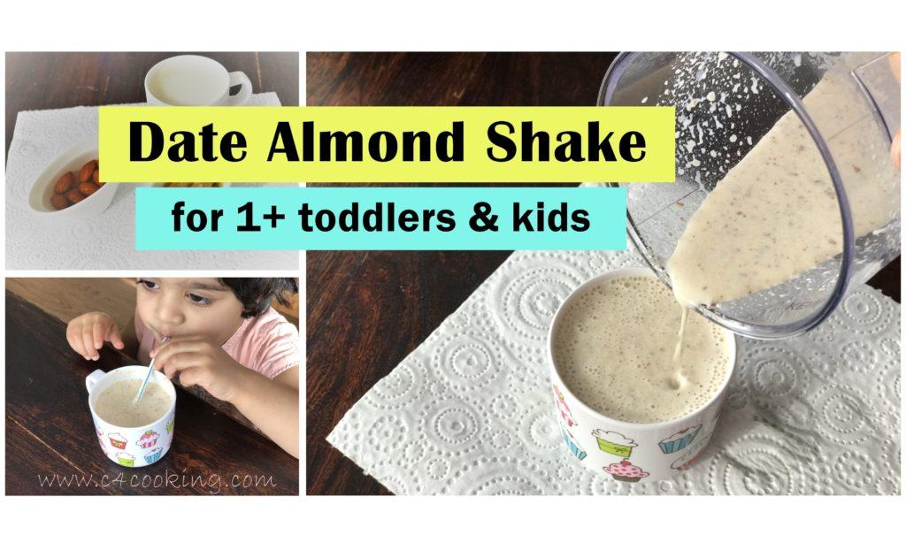 date almond shake recipe