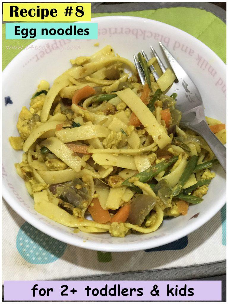 egg noodles recipe, indian egg noodles recipe, kids egg noodles recipe, dinner recipes, noodles recipes, c4cooking 10 dinner recipes